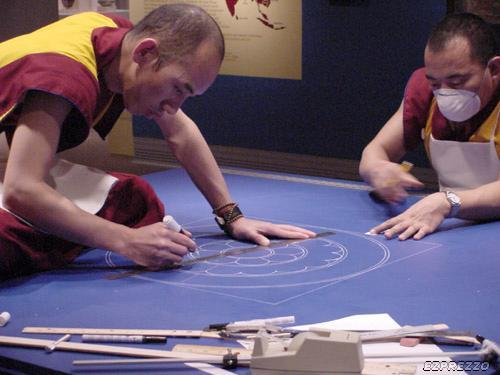 mandalas budistas de sal 1