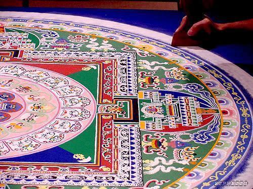 mandalas budistas de sal 3