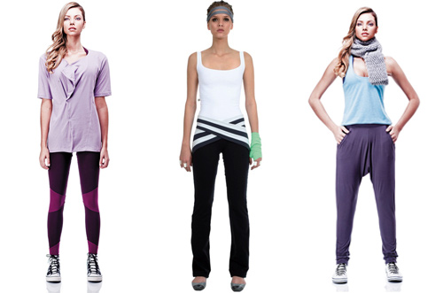 mulher-elastica-yoga-roupas