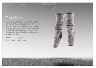 stella mcCartney yoga sock