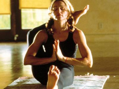 Yoga-Madonna