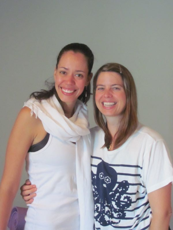 Eu e a professora Maria Cristina