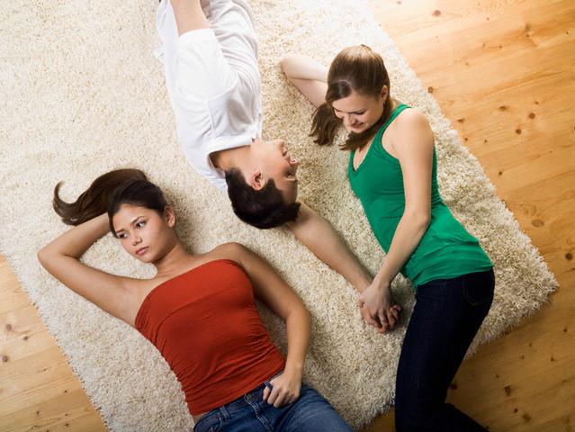 Girl Ignoring Friend To Be with Boyfriend