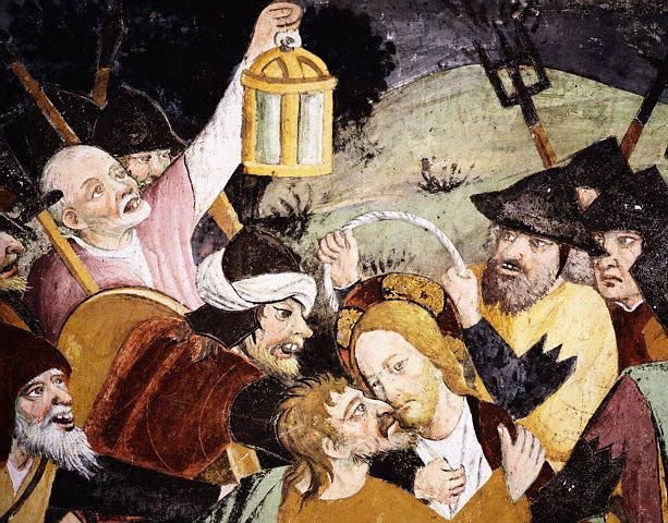 'Traição a Jesus', de Giovanni Canavesio