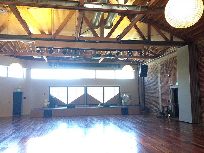sala principal yoga e eventos